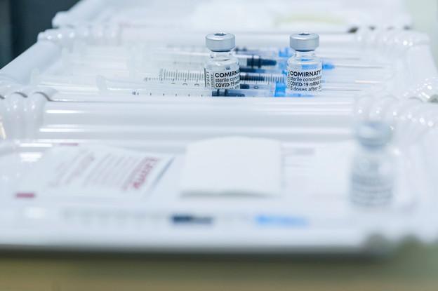 L'EMA a donné son feu vert à une 3e dosedu vaccin Pfizer/BioNTech. (Photo: Archives SIP/Jean-Christophe Verhaegen)
