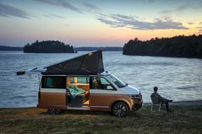 Les deux derniers vainqueurs du concours d'innovation européen: le California Beach6.1 de Volkswagen (photos1, 2 et 3) et le Family for4 de Malibu (photos4, 5 et 6). ((Photo: Volkswagen))