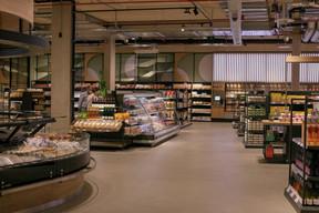 emma's, nouvelle épicerie du groupe Pall Center. ((Photo: Matic Zorman / Maison Moderne))