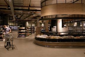 emma's, nouvelle épicerie du groupe Pall Center. (Matic Zorman / Maison Moderne)