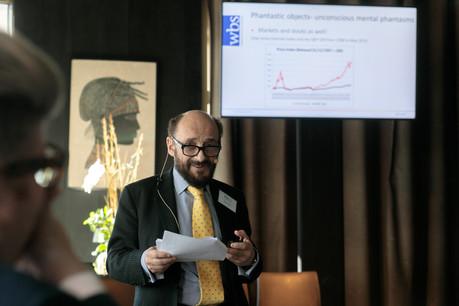 Professeur Richard Taffler (Warwick Business School). (Photo: Matic Zorman)