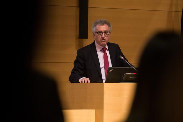 PierreGramegna, le ministre des Finances, a présenté le résultat de l'émission des obligations durables en commission des finances. Mais n'a pas su convaincre tous ses collègues, loin de là même. (Photo: Matic Zorman/Archives)