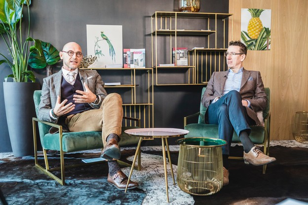 Vincent Bechet, Partner & Managing Director, et Marc Baertz, Partner & Head of valuation, INOWAI. (Photo: Julian Pierrot / Maison Moderne Publishing SA)