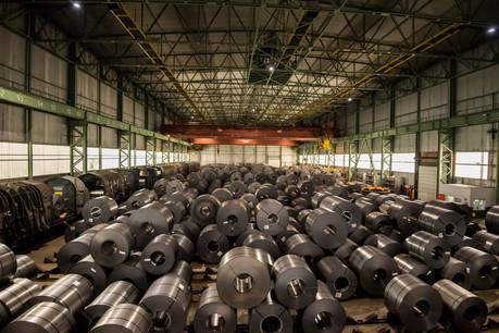 Faute d'approvisionnement suffisant, le site de Liberty Steel à Dudelange tourne avec seulement 25 à 45% de ses effectifs. (Photo: Nader Ghavami/Maison Moderne)
