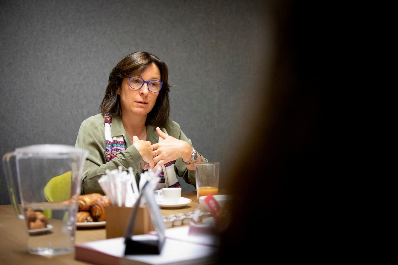 Tilly Metz se définit comme une femme libre: elle ne votera jamais contre ses convictions. (Photo: Patricia Pitsch / Maison Moderne)