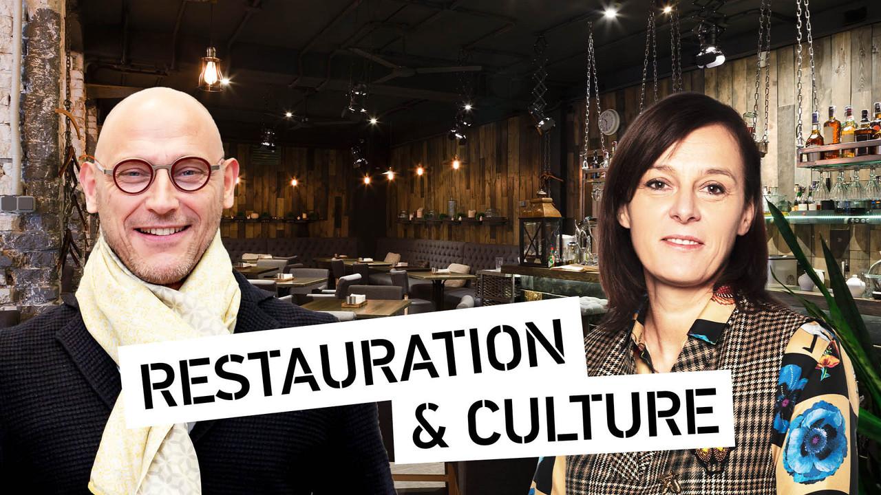 Vincent Bechet, CEO d'INOWAI, etStéphanie Jauquet, fondatrice du restaurant Um Plateau et de la chaîne de restauration Cocottes. (Montage: Maison Moderne)