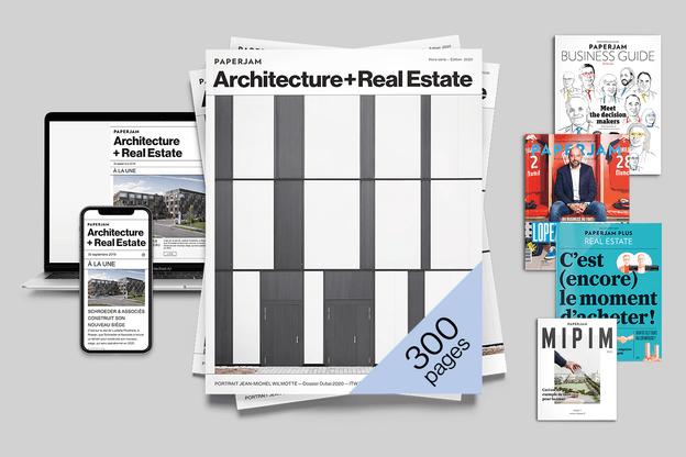 La marque Paperjam s'agrandit avec la newsletter Paperjam Architecture + Real Estate. (Photo: Jan Hanrion / Maison Moderne)