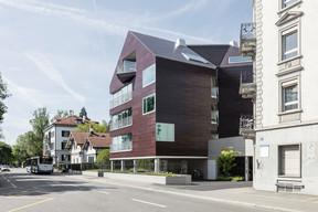 Wohnhaus Solaris, Zürich (huggenbergerfries Architekten, Zürich + Ertex Solartechnik, Amstetten) ((Photo: Beat Bühler))