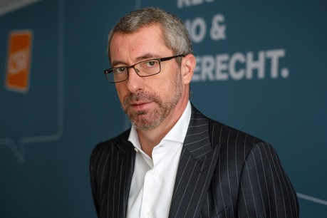 Frank Engel admet que les responsables des différents partis se parlent. Mais pas dans l'optique de former une nouvelle coalition. (Photo: Matic Zorman/archives)
