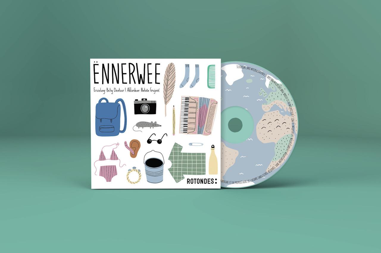Le disque «Ënnerwee» propose quatre histoires d'inspiration non-européenne pour les enfants luxembourgophones. (Photo: Rotondes)