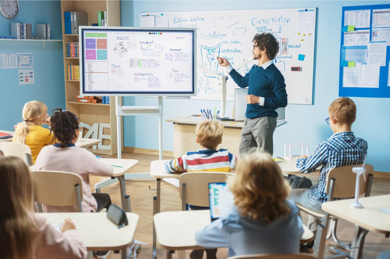 En début de carrière, selon l'OCDE, un enseignant du premier cycle au Luxembourg gagne66.723 euros par an. (Photo: Shutterstock)