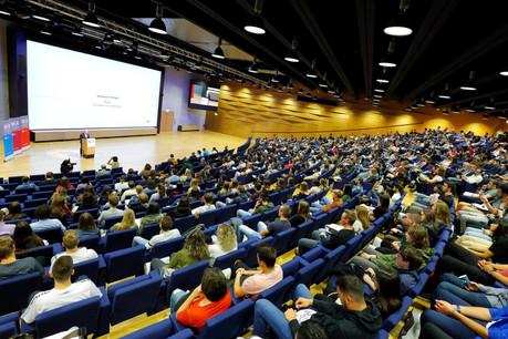 Les étudiants de l'Uni ne reverront pas leurs amphis avant septembre. (Photo: Marc Schmit/ Xero/Université du Luxembourg/archives Paperjam)