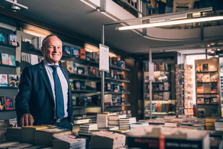Fernand Ernster, directeur général des Librairies Ernster et président de la CLC. (Photo: Edouard Olszweski / Archives)