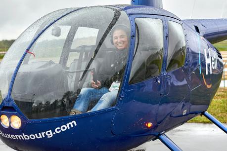 Barbara Agostino rêvait de piloter un hélicoptère depuis l'adolescence.  (Photo: Andrés Lejona/Maison Moderne)