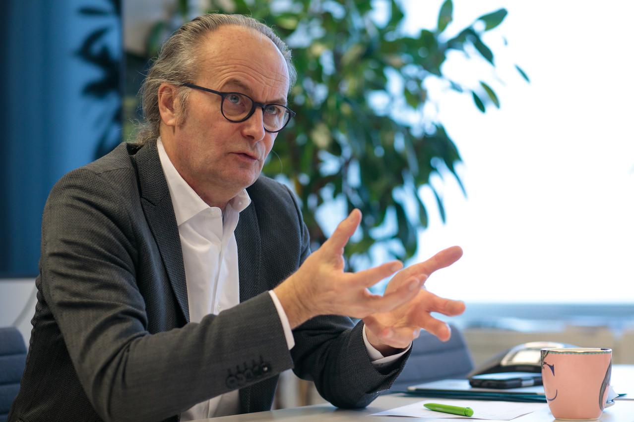 Selon Claude Turmes, «le Luxembourg a déjà la production électrique du monde décarbonisé». (Photo: Matic Zorman / Maison Moderne)