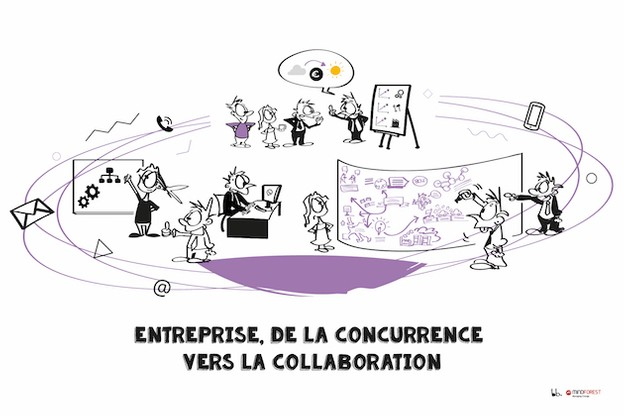 Entreprise, de la concurrence vers la collaboration MindForest