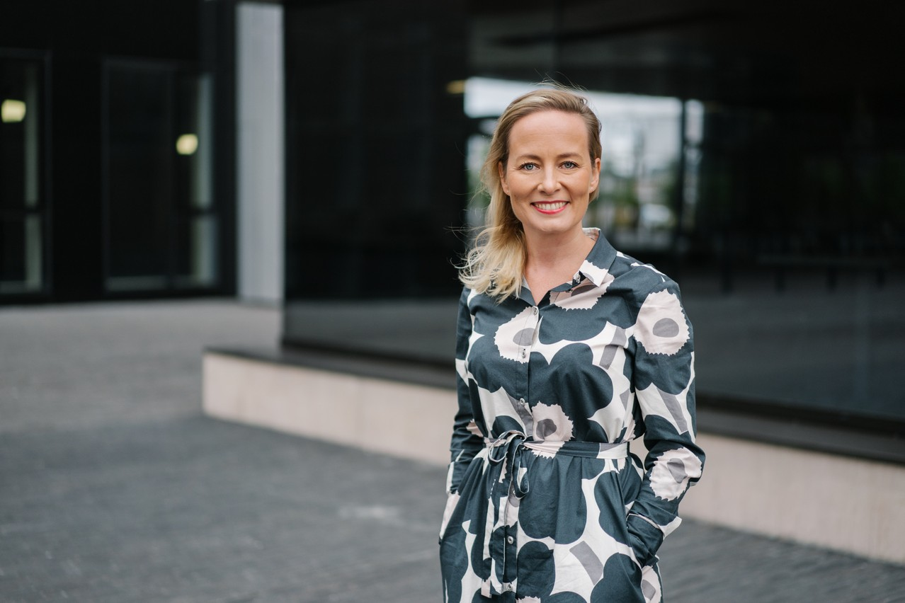 «Le programme Horizon Europe permet le financement d'une série d'activités, allant de la recherche fondamentale jusqu'au développement de produits innovants», explique Sanna Alaranta, Advisor - European R&D and Innovation Support chez Luxinnovation. (Photo: Marion Dessard / Luxinnovation)