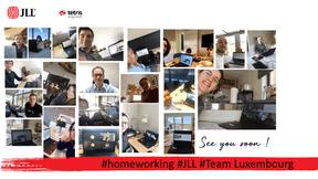 L'équipe de JLL en home office. ((Photo: JLL))