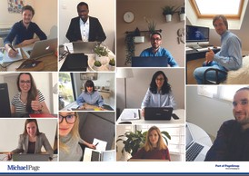 Michael Page en mode #workingfromhome. ((Photo: Michael Page))
