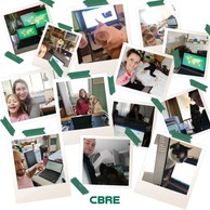 CBRE Luxembourg est aussi en mode #StayHome #StaySafe. ((Photo: CBRE Luxembourg))