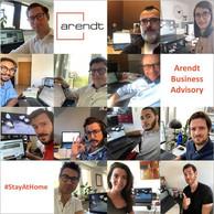 Les équipes d'Arendt nous partagent leurs «nouveaux bureaux». ((Photo: Arendt / LinkedIn))