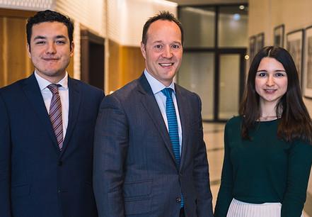Eduardo Isidro, Christian Schlesser et Catarina Ribeiro, Tax Advisory, EY Luxembourg. (Crédit: EY Luxembourg)