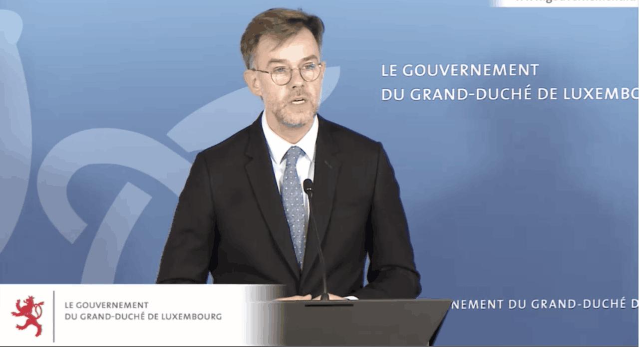 Le ministre de l'Économie FranzFayot est attendu au tournant par des entreprises déjà fragilisées dans leur rentabilité. (Photo: Capture d'écran)