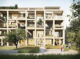 Vue d'une résidence conçue par Tank et construite par Baumeister Haus. ((Illustration: Tank))