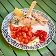 En attendant l'arrivée de l'aglione sur les étals luxembourgeois, il est possible de le remplacer par de l'ail frais… (Maison Moderne)