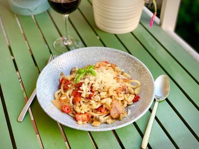 Les «Pici con le briciole», ou «Pici avec des miettes», une recette 100% Toscane qui permet d'exprimer les saveurs de son terroir… (Photo: Maison Moderne)
