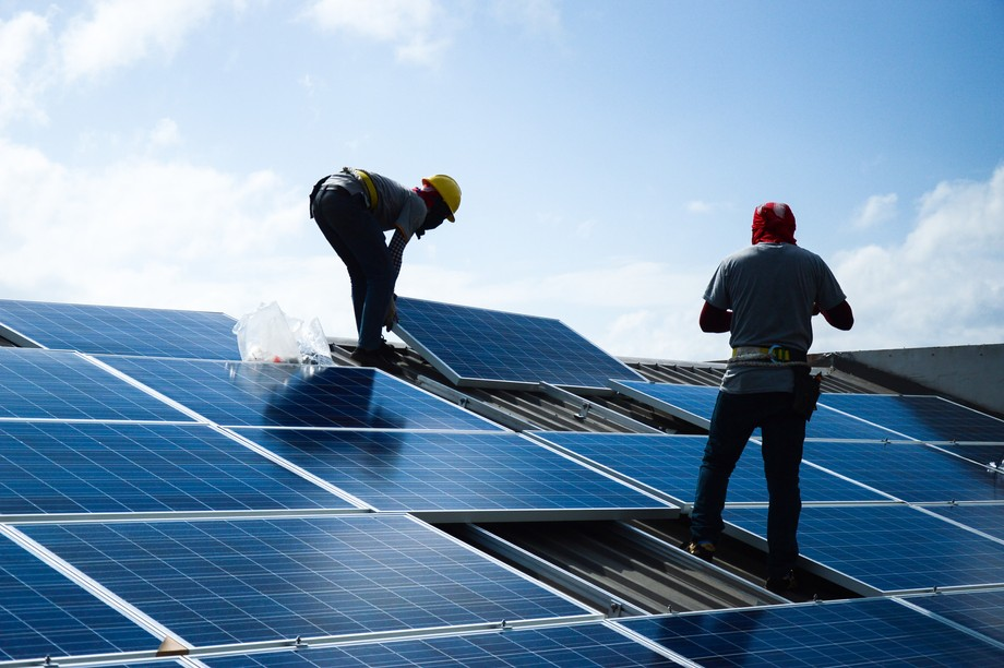 More than a third of funded projects saw companies switch to renewable energies Photo: Shutterstock