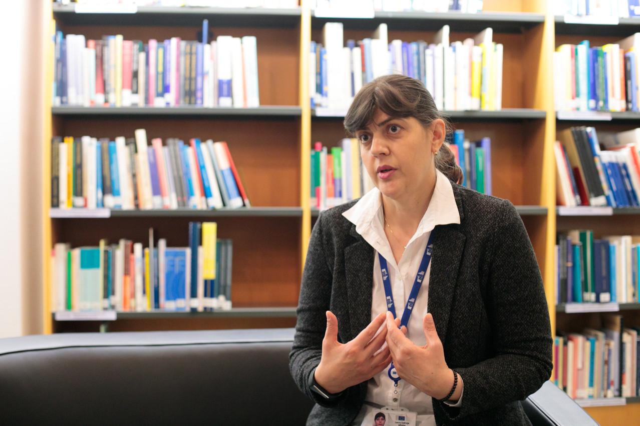 Laura Codruța Kövesi est la chef de l'EPPO, basé à Luxembourg. (Photo: Matic Zorman/Maison Moderne)