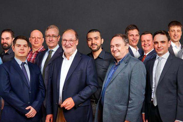L'équipe de LuxProvide chargée de la mise en œuvre du supercalculateur luxembourgeois Meluxina. (Photo: LuxProvide/Linkedin)