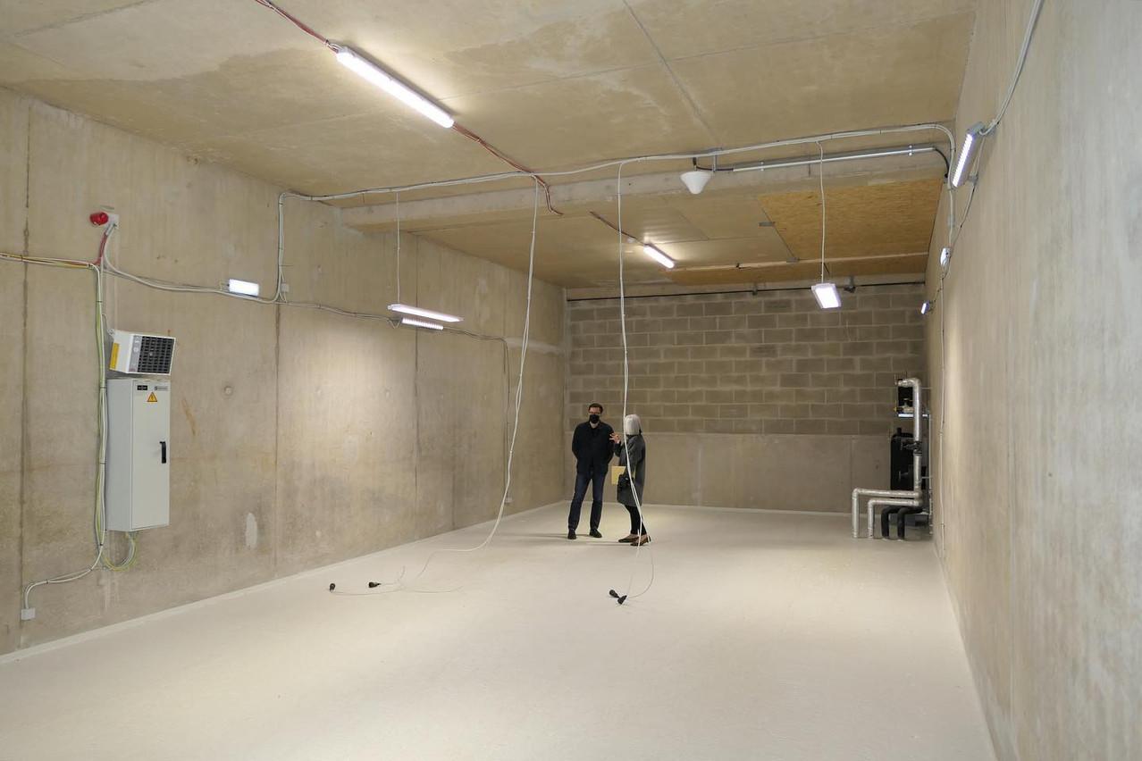 Avec une hauteur sous plafondde 7m, les volumes sont imposants. (Photo: ErnaHecey)