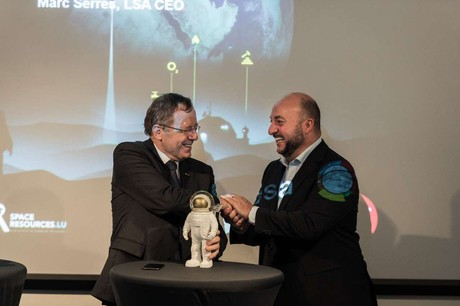 Johann-Dietrich Wörner… et son successeur, Étienne Schneider? L'Agence spatiale européenne vient de publier la description de poste, qui va comme un gant à l'ex-ministre de l'Économie. (Photo: SIP)