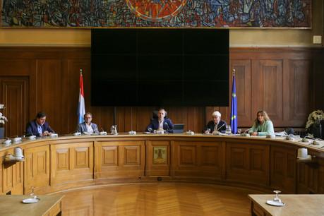 Georges Mischo a annoncé le report du vote du PAG de la Ville d'Esch-sur-Alzette. (Photo: Romain Gamba/Maison Moderne)