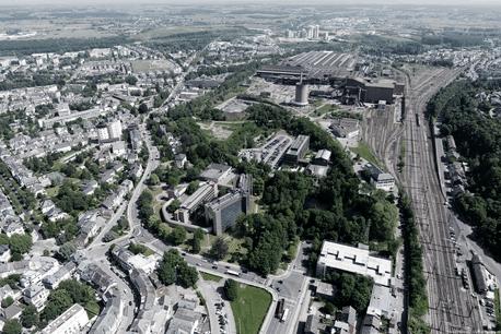 L'ancien site industriel d'ArcelorMittal va pouvoir poursuivre son développement. (Photo: Agora)