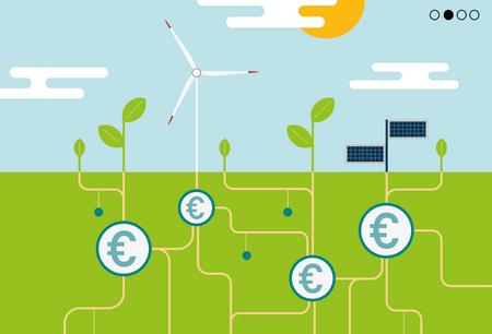 Dossier: La finance durable, une opportunité d'investissement pour les entreprises (Crédit: Maison Moderne)