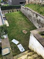 La cour arrière de Luis Faustino avant le début des travaux de rénovation. ((Photo: Luis Faustino))
