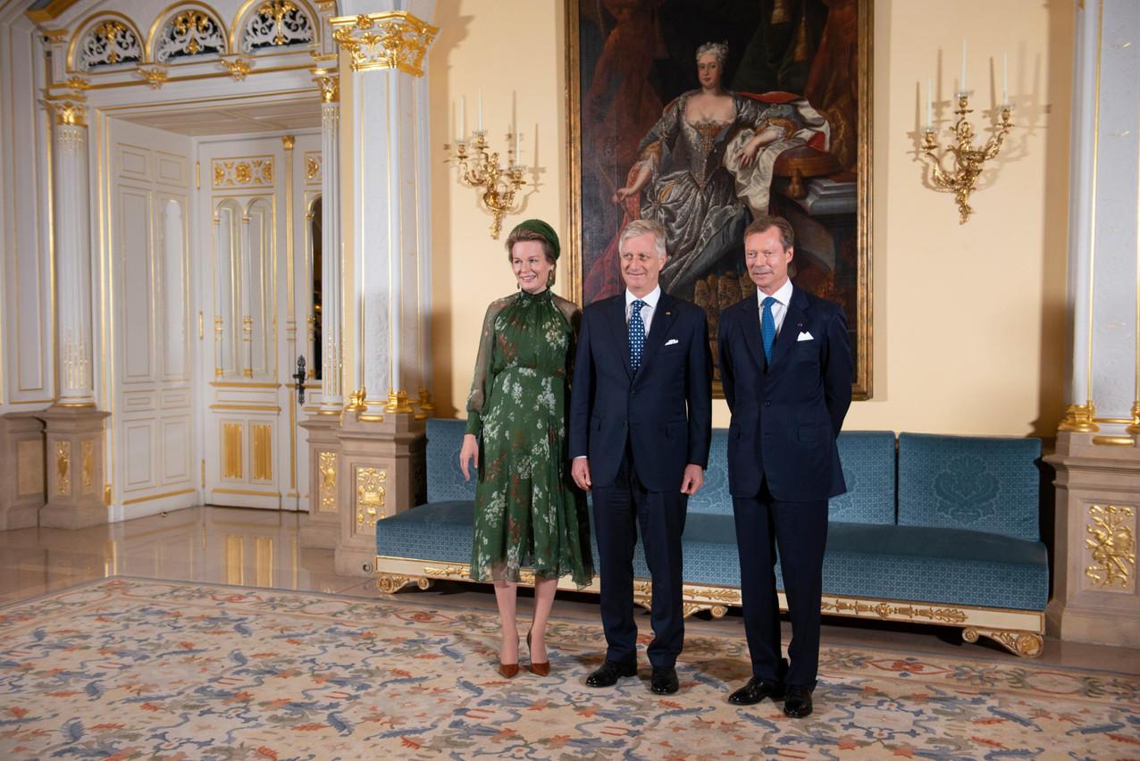 La visite d'État du couple royal de Belgique se prolonge ces mercredi et jeudi. (Photo: Anthony Dehez)