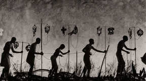 "William Kentridge, video still from film made for ""More Sweetly Play the Dance"", 2015. ((Photo: William Kentridge))"