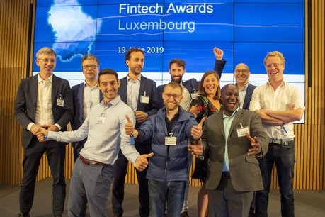 Les 10 finalistes des Fintech Awards 2019. (Photo: KPMG)
