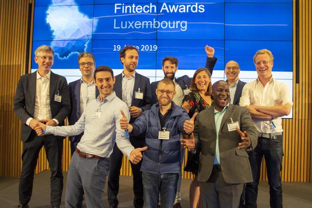 Les 10 finalistes des Fintech Awards 2019. (Photo: KPMG)