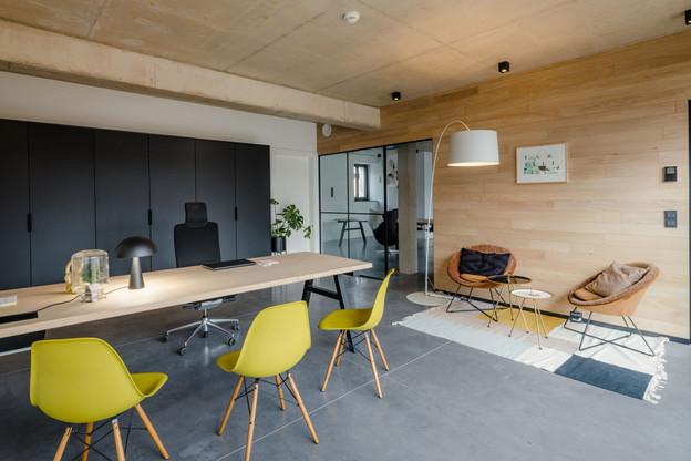 Les nouveaux bureaux de Pall Center remportent le prix du meilleur espace de bureaux de l'année attribué par CBRE Luxembourg. (Photo: Nader Ghavami)