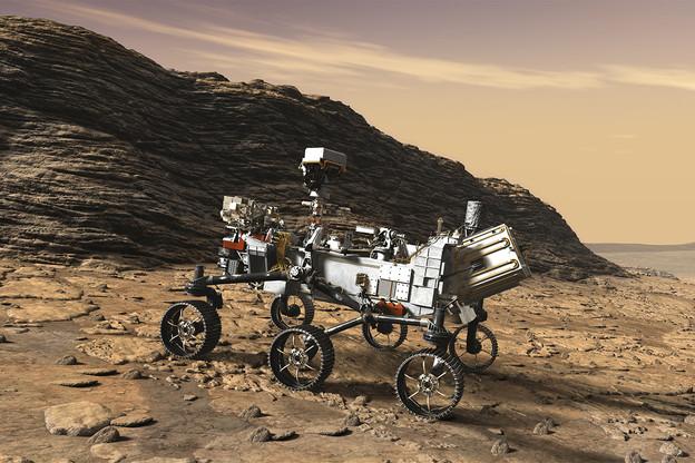 Dans le rover d'un kilo, sera embarquée une micro-puce qui comprendra le nom d'un million de passagers. À défaut d'embarquer vraiment dès 2020. (Photo: Nasa)