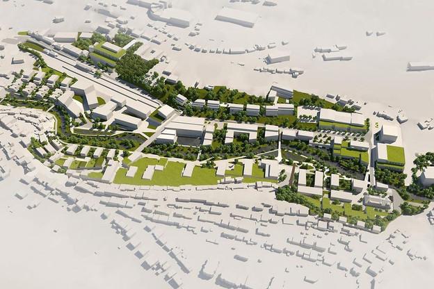 L'État participera largement au financement du projet Wunne mat der Wooltz. (Illustration: Fonds du Logement)