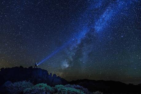 Le colloqueFachtagung – Gutes Licht est l'occasion de sensibiliser le public à la pollution lumineuse nocturne. (Photo: Tourismo La Palma/Van Marty)