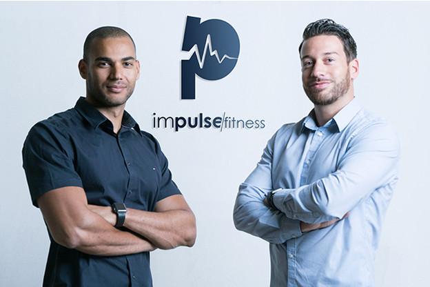 Les fondateurs d'Impulse Fitness,Elmahdi Khokha etGregory Di Pompeo, intègrent le Paperjam Club. (Photo: Impulse Fitness)