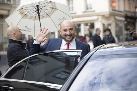 Étienne Schneider n'est officiellement plus un membre du gouvernement depuis son audience de congé. (Photo: Jan Hanrion/Maison Moderne Publishing SA)