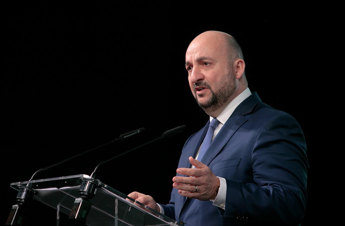 ÉtienneSchneider rejoint Besix Group en tant qu'administrateur délégué. (Photo: Matic Zorman / Maison Moderne / archives)